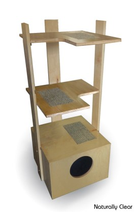 48-Inch Cat Tower for Sale